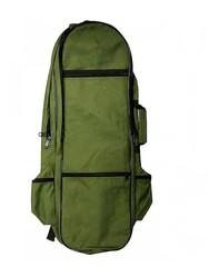 Рюкзак для металлоискателя и лопаты усиленный М2 (зелёный)