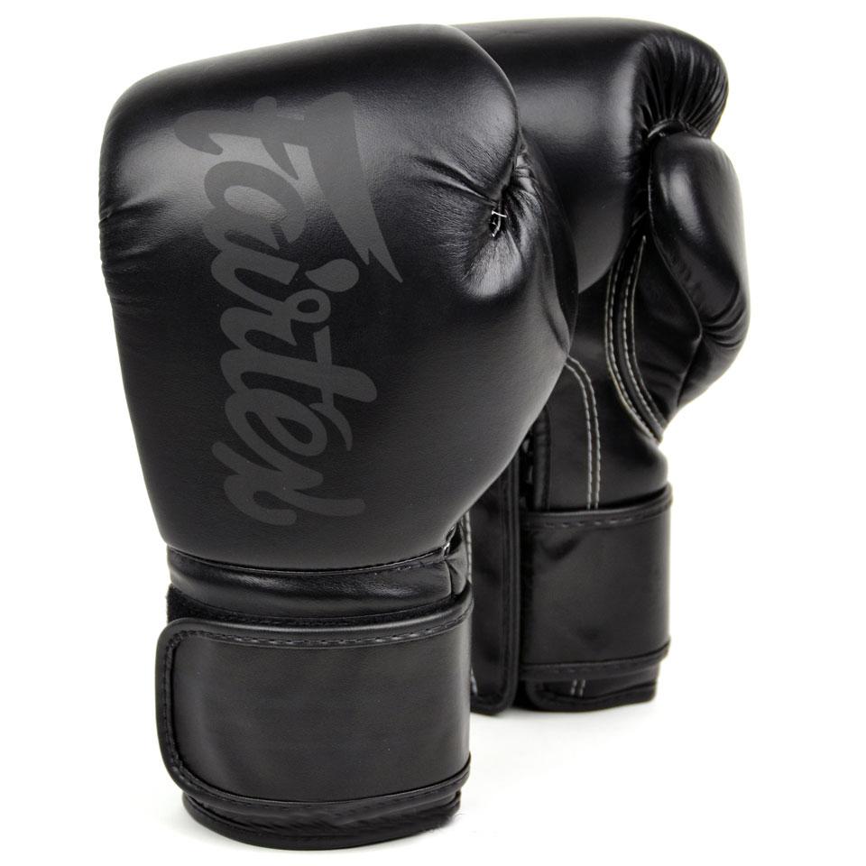 Перчатки Перчатки для бокса Fairtex Boxing gloves BGV14SB Solidblack 1.jpg