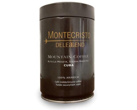 купить Кофе молотый Montecristo Deleggend, 250 г ж/б