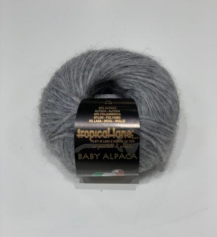 Tropical Lane (пр.Италия) BABY ALPACA  52% альпака 40% полиамид 8% шерсть .25г/100м.