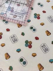 Ткань для пэчворка, хлопок 100% (арт. X0211)