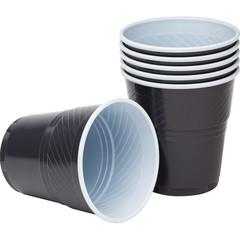 Стакан одноразовый для вендинговых аппаратов Upax unity пластиковый коричневый/белый 155 мл 50 штук в упаковке
