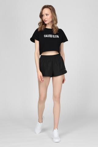 Женские черные шорты Calvin Klein
