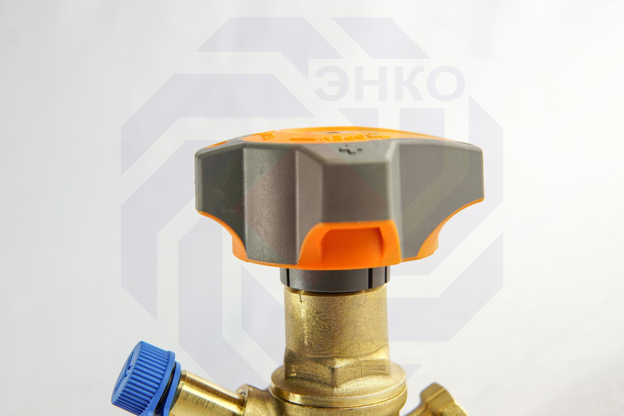Клапан балансировочный IMI STAD с дренажем DN 15