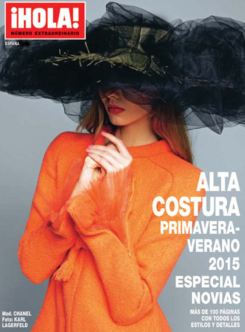 Журнал мод.¡HOLA! Alta costura сезона p/v 2015.