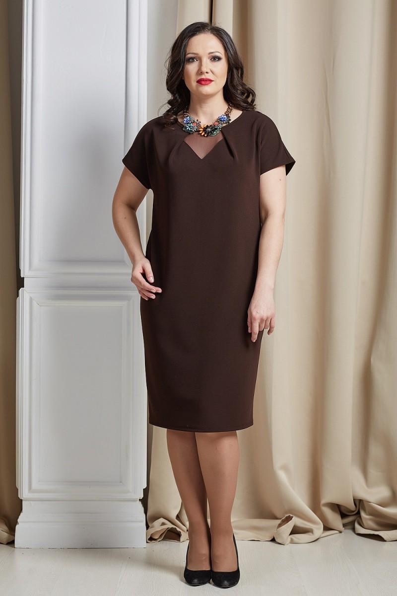 Платья Платье Инесса шоколад 1233.jpg
