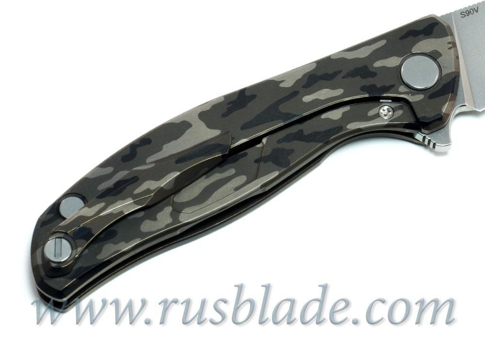 Shirogorov Flipper 95 Camo Rare S90V - фотография