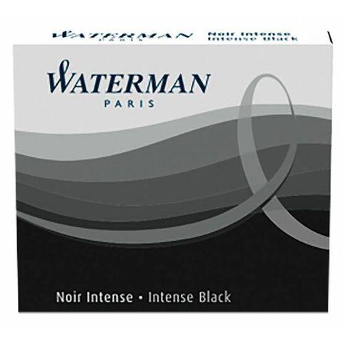 Чернила в картридже Waterman International Black (6шт) (S0110940)