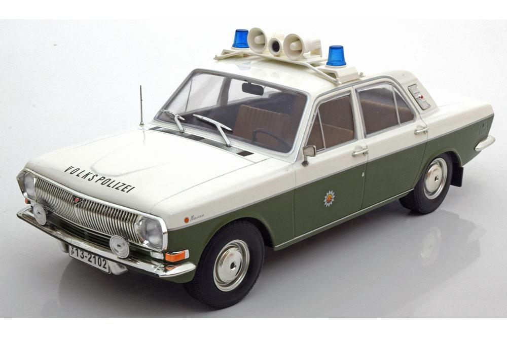 Коллекционная модель VOLGA GAZ 24 VOLKSPOLIZEI 1972 / ВОЛГА ГАЗ-24 ПОЛИЦИЯ ГДР 1972