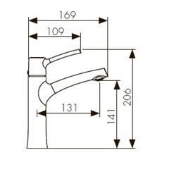 Смеситель KAISER Stick 49111 для раковины схема