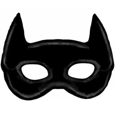1207-3548 Шар фигура Маска чёрная Бэтмен