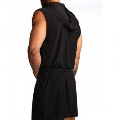 Мужской халат черный N2N Dream Robe Black