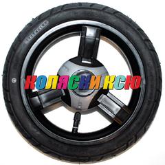 Колесо для детской коляски №003057 надув 10дюймов без вилки 225х48 (втулка на ось 10мм) ADBOR