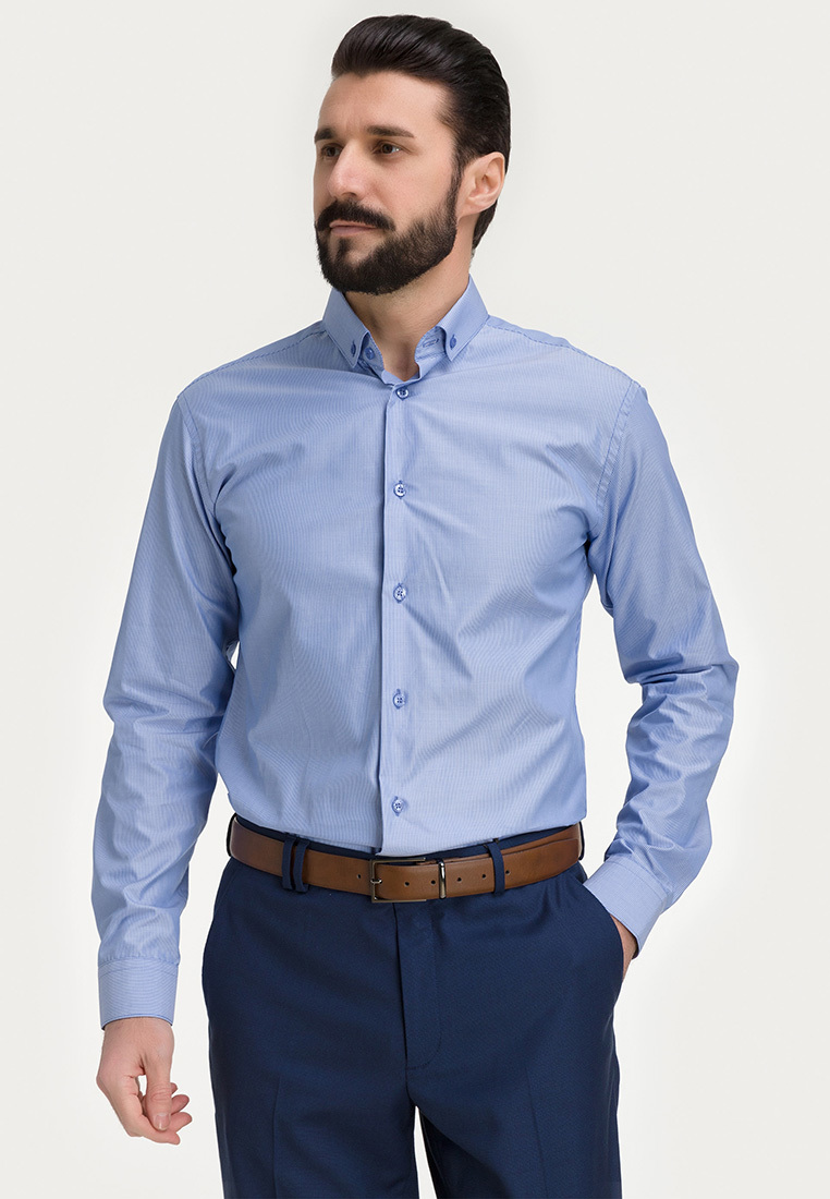Сорочка мужская длинный рукав 211/131/7306/Z/b/1_GB