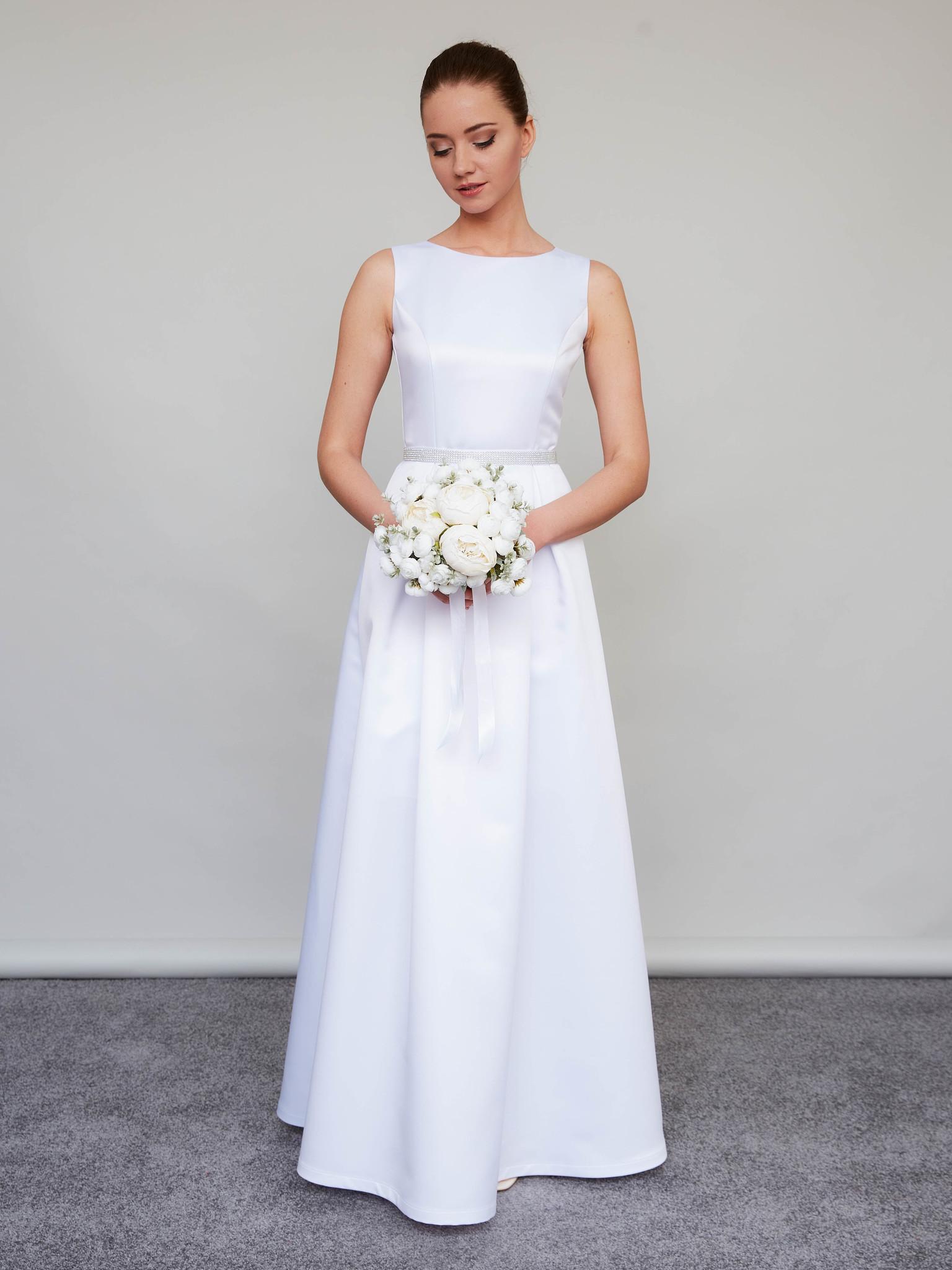 Свадебное платье Классика (белый)