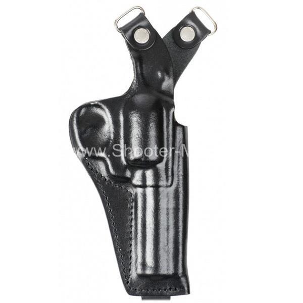 Оперативная кобура для револьвера Гроза Р-02 вертикальная ( модель № 20 )