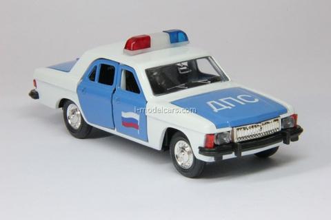 GAZ-3102 Volga DPS Police Agat Mossar Tantal 1:43