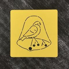 Птичка №11 Снегирь