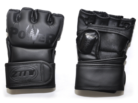 Перчатки для ММА. Цвет: чёрный. Размер S: ZTM-004-Ч-S