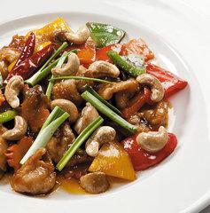Овощи по-китайски с курицей / 350 мл