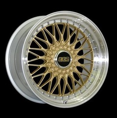 Диск колесный BBS Super RS 8.5x19 5x112 ET48 CB82.0 gold