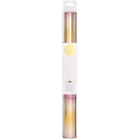 Тонерочувствительная фольга для MINC от Heidi Swapp- Pink/Gold Ombre 5' Roll