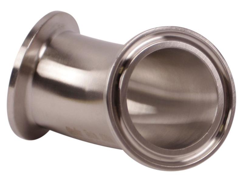 Комплектующие для самогона Отвод 45 CLAMP 1,5 дюйма 10189_P_1505134327562.jpg