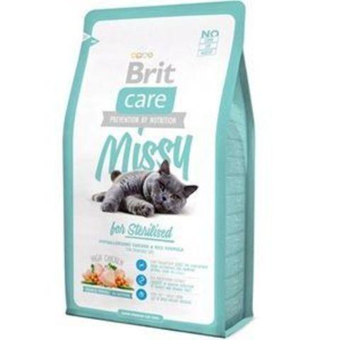 2783 Brit Care Cat Missy for Sterilised д/Стерилизованных животных 2кг*6