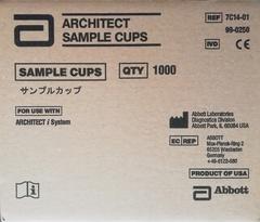 7C1401 Пробирки для образцов для Архитект ARCHITECT i2000SR  2мл 1000шт/упак