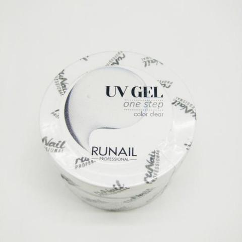 Гель RuNail, Однофазный прозрачный 15 мл
