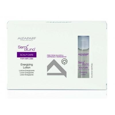 Alfaparf Milano SDL Scalp: Лосьон против выпадения волос в ампулах энергетический (Energizing Lotion), 12*10мл