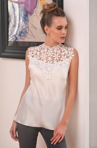 Блуза Топ женский Mia-Amore Milan Милан 8325 белый