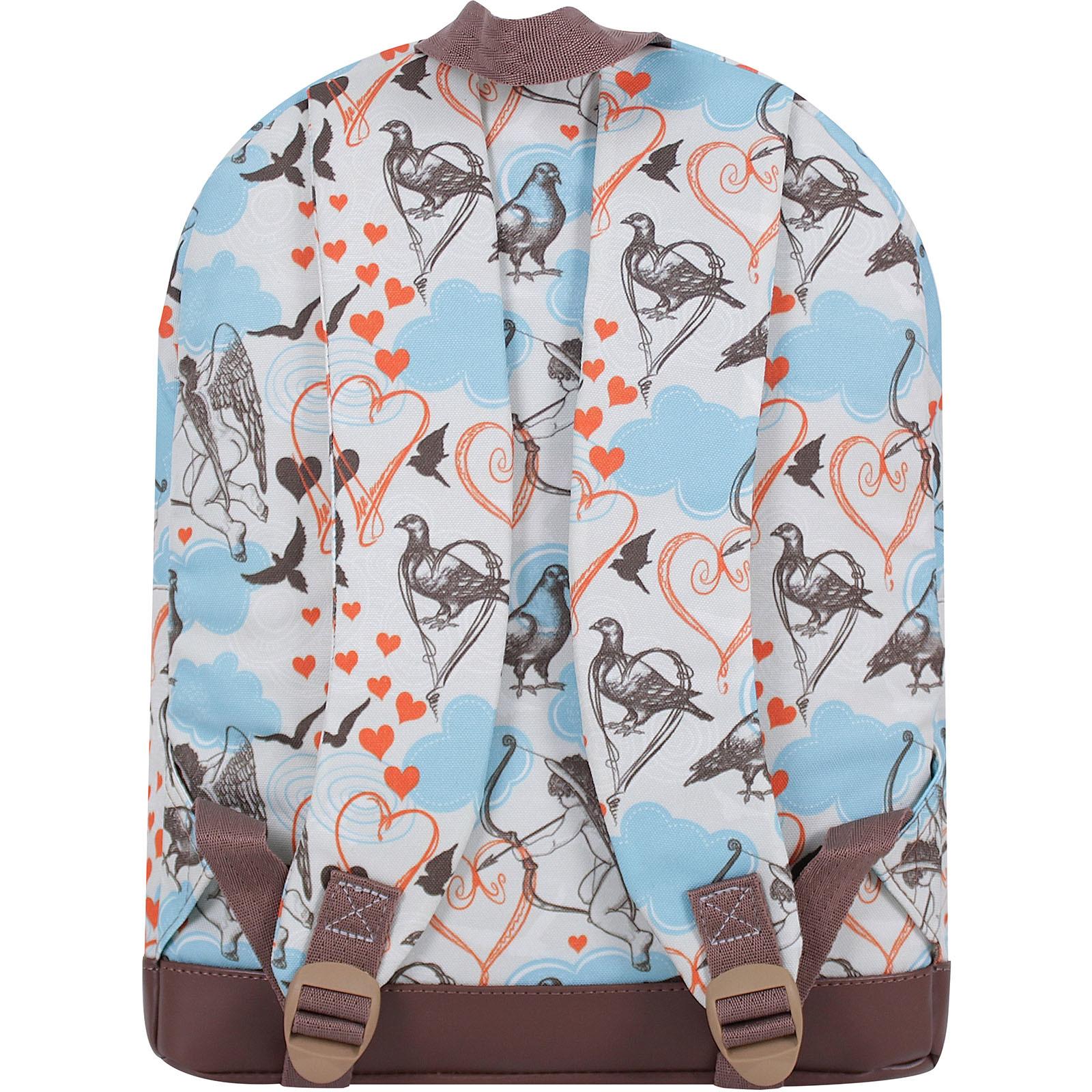 Рюкзак Bagland Молодежный 17 л. сублимация (голуби) (005336640)