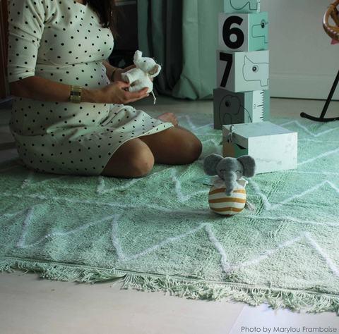 Ковер Lorena Canals Hippy Mint (120х160)
