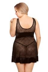 Красивая сорочка из черного тюля Elisya (BS) Sale
