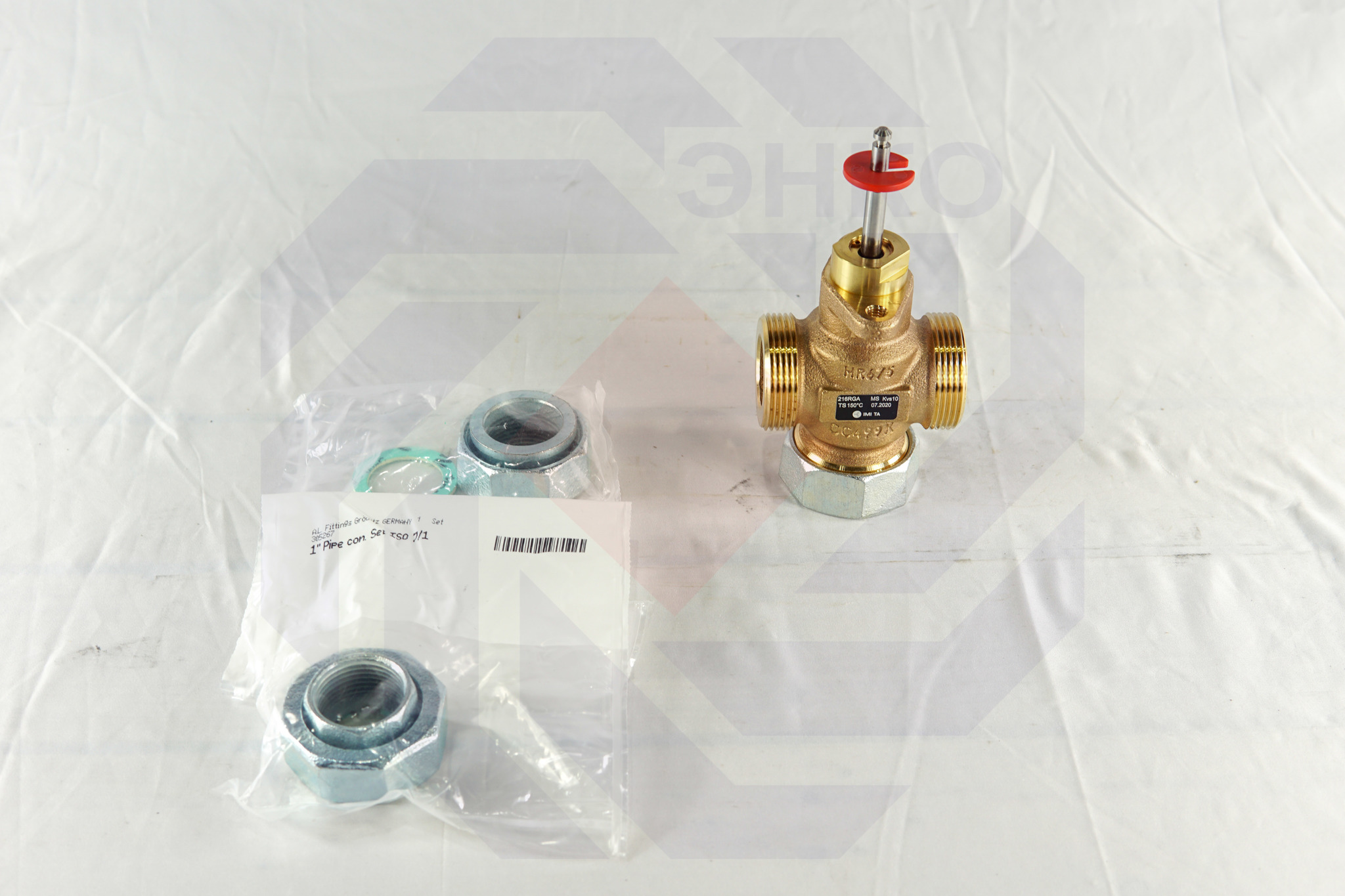 Клапан регулирующий двухходовой IMI CV216 RGA DN 25