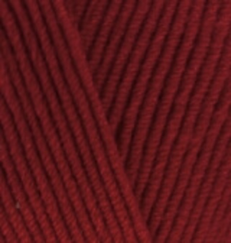 Пряжа Cotton gold (Alize) 390 Вишня, фото