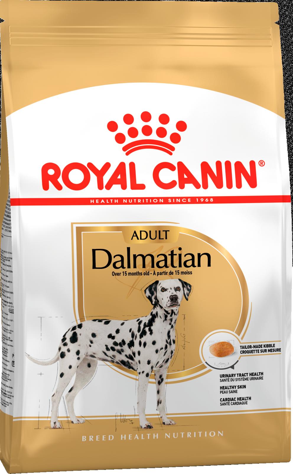 Royal Canin Корм для взрослых собак породы далматин, Royal Canin Dalmatian Adult 379120.png