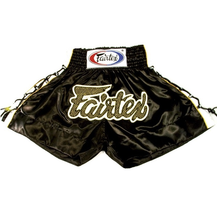 Шорты Шорты Fairtex Muaythai Shorts BS0601 Black 1.jpg
