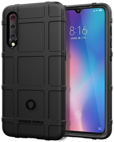 Чехол Xiaomi Mi 9 (9 Pro 5G) цвет Black (черный), серия Armor, Caseport