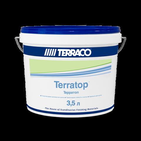 Terraco Terratop/Террако Терратоп акриловая краска премиального уровня с повышенной устойчивостью к загрязнениям