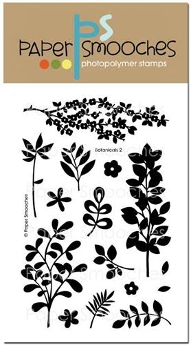 Набор силиконовых штампов Botanicals 2
