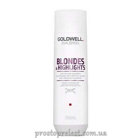Goldwell Dualsenses Blondes & Highlights Anti-Yellow Shampoo - Шампунь проти жовтизни для освітленого волосся