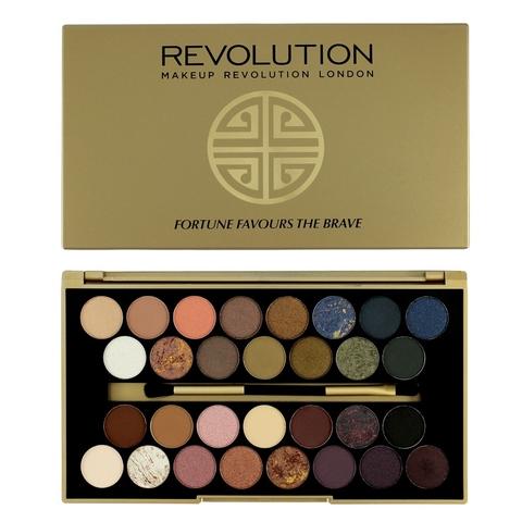 Палетка теней Makeup Revolution 30 Eyeshadow Palette, Fortune Favours The Brave