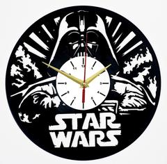 Звездные войны Часы из Пластинки — Дарт Вейдер