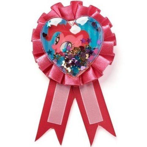 Значок My Little Pony с розовой лентой/A