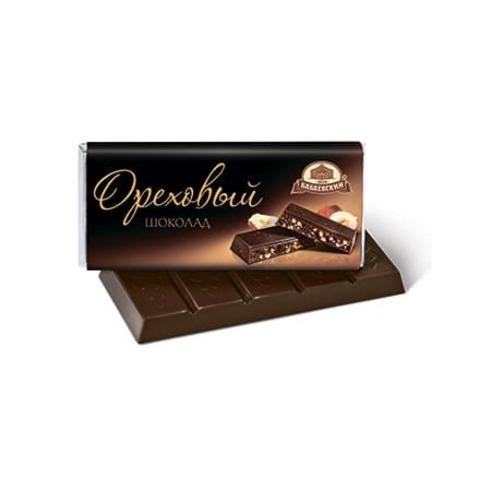 Шоколад Бабаевский Ореховый 60 гр.