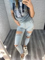 летние брюки-джинсы nadya