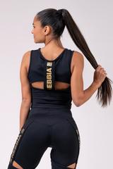 Женская майка Nebbia Honey Bunny regtop 822 black