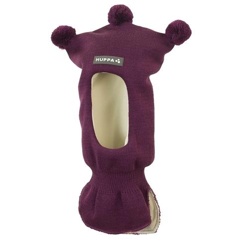 Шапка-шлем HUPPA COCO 2 для девочки бургундия